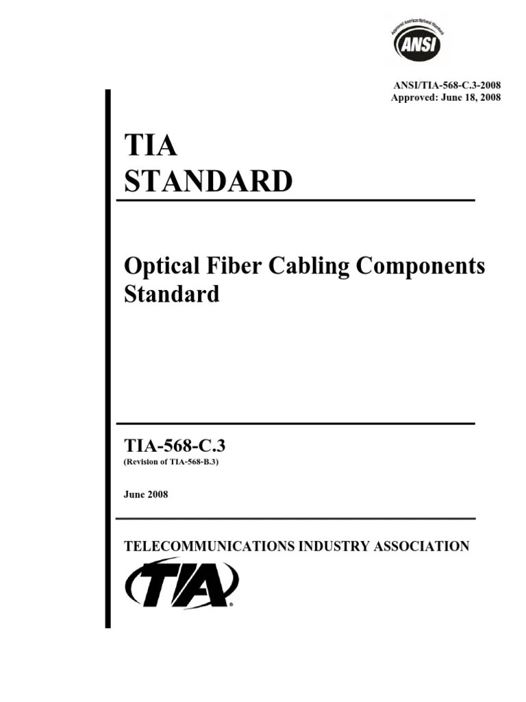 medium resolution of tia 568 c 3 optical fiber electrical connectortia 568 c wiring 13