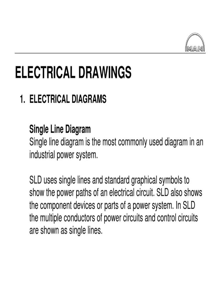medium resolution of standard single line diagram