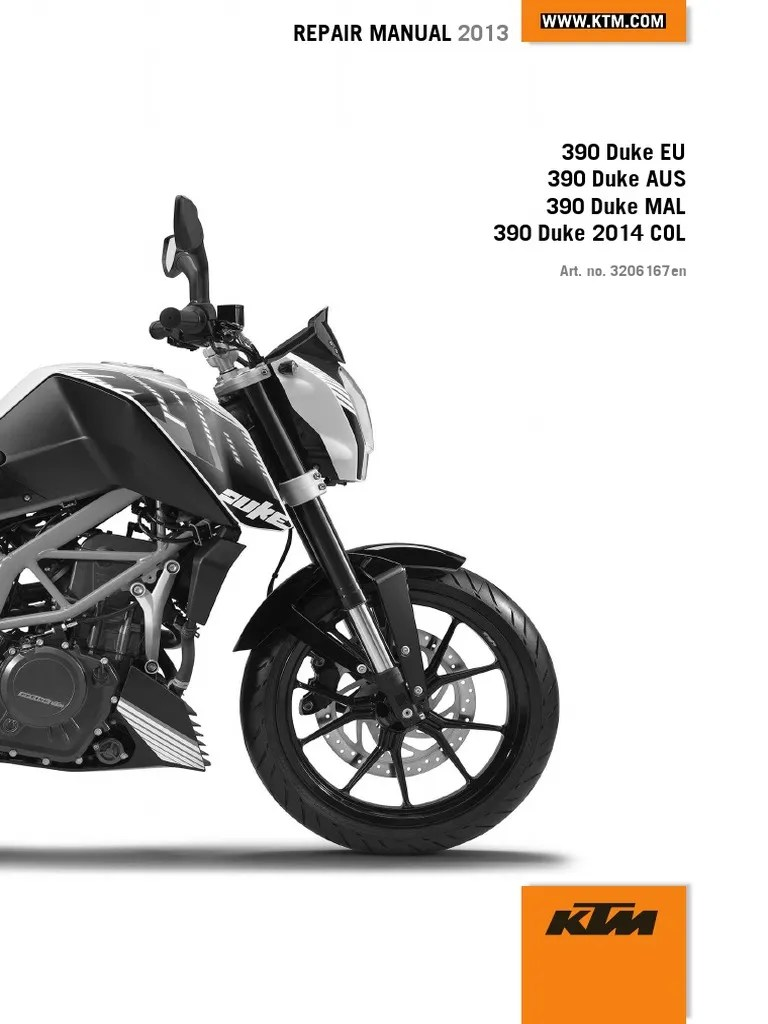 duke 390 repair manual full version 204pages clutch cylinder engine  [ 768 x 1024 Pixel ]