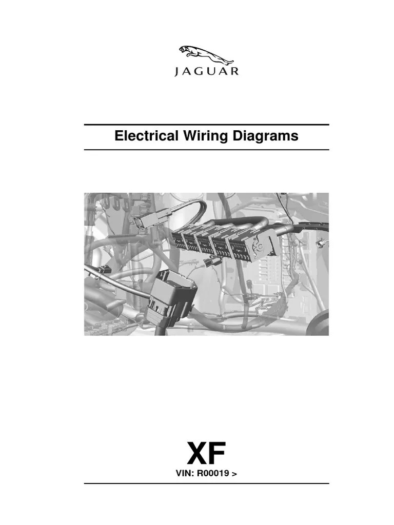 Electrical Wiring Diagram for jaguar xf 250