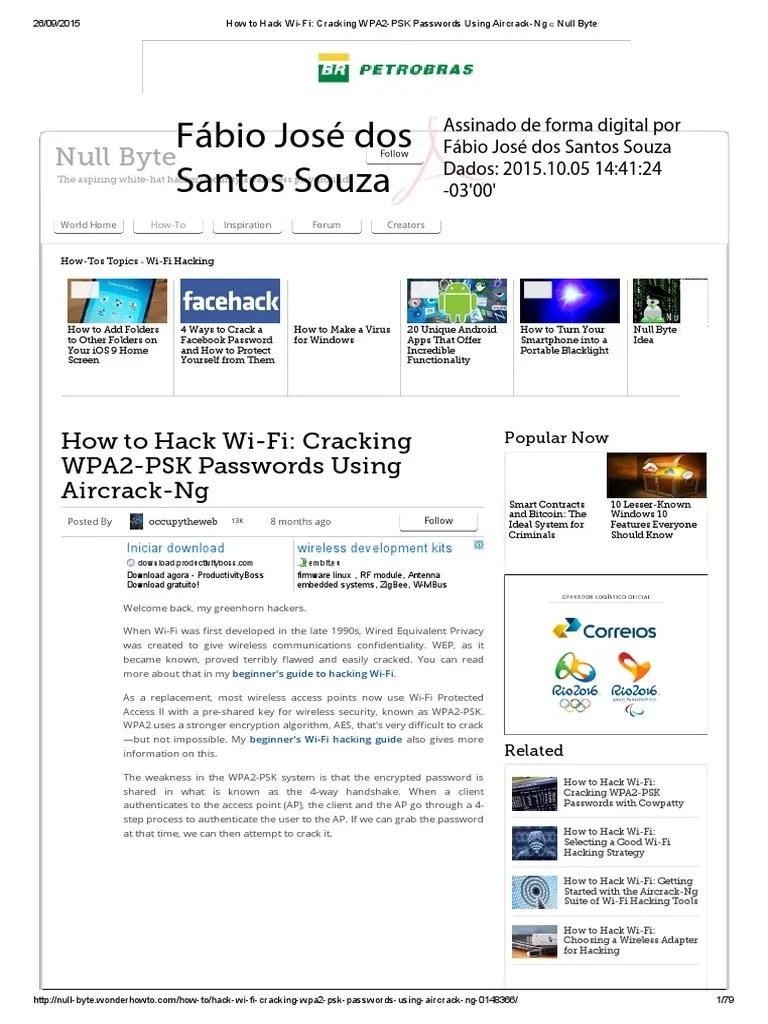 Hack Wifi Wpa2 Psk Windows 7 2017 : windows, Wi-Fi_, Cracking, WPA2-PSK, Passwords, Using, Aircrack-Ng, Password