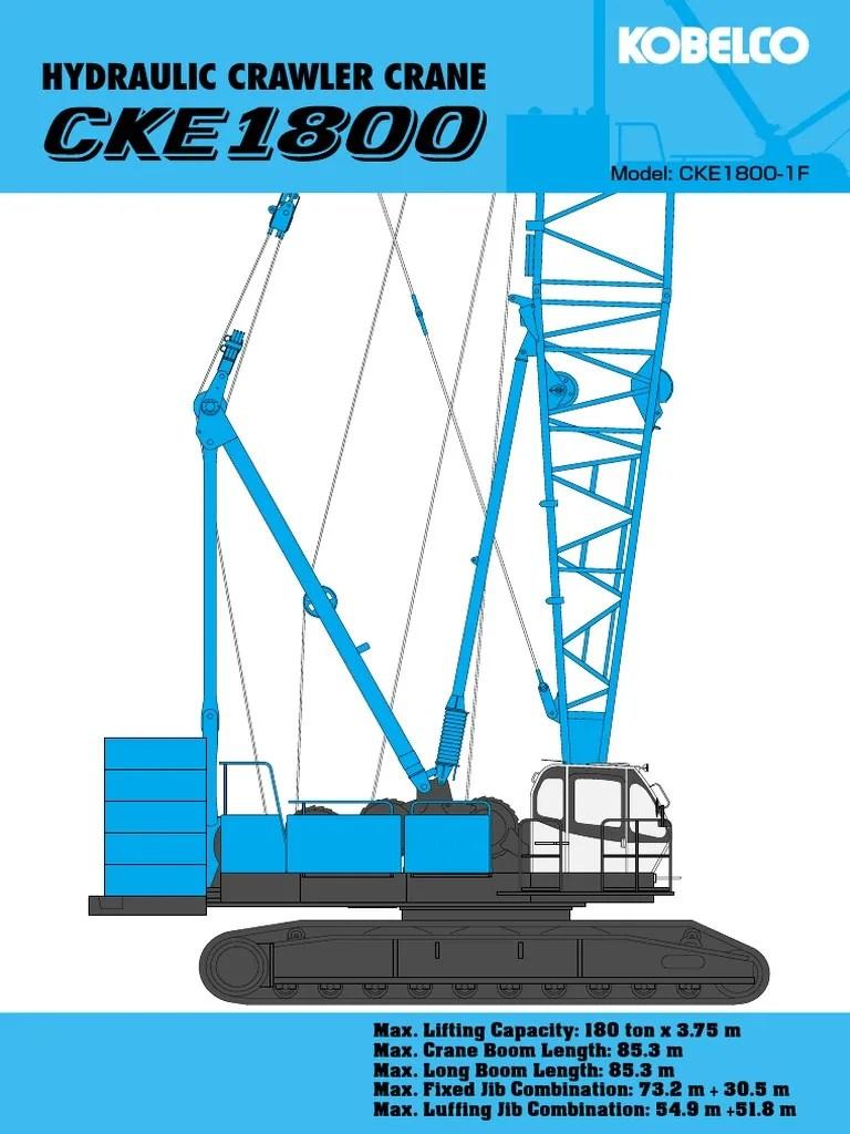 also cke fc spec crane machine machines rh scribd