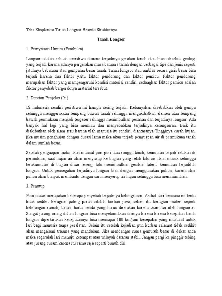 Teks Eksplanasi : Pengertian, Contoh, Struktur, Ciri, Kaidah
