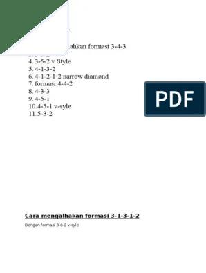Cara Mengalahkan Formasi 4-3-3 : mengalahkan, formasi, 4-3-3, Mengalahakan, Formasi