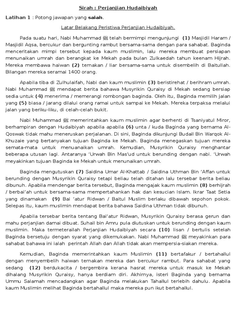 Isi Perjanjian Hudaibiyah : perjanjian, hudaibiyah, Perjanjian, Hudaibiah, Bahagian, Tahun, Dubai, Khalifa