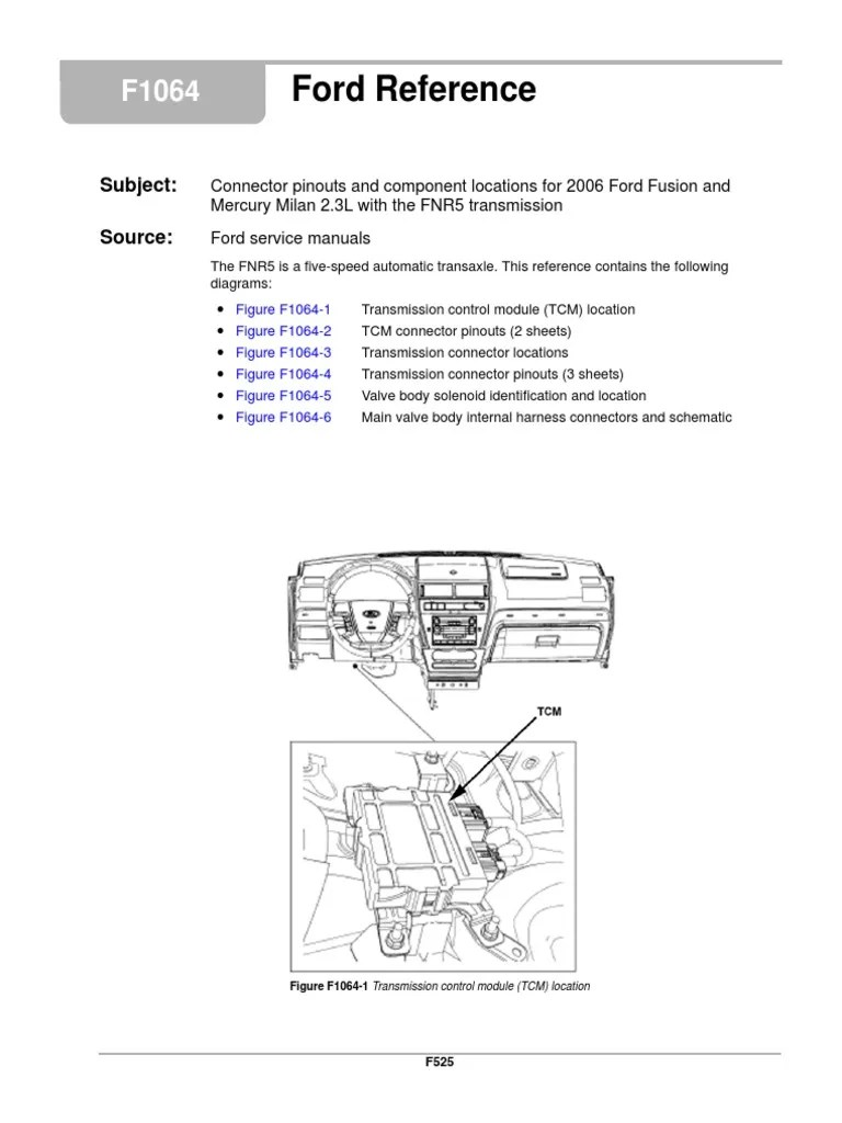 fnr5 diagram sensor transmission mechanics electrical connector ford transmission diagram automatic transmission 4f27e [ 768 x 1024 Pixel ]