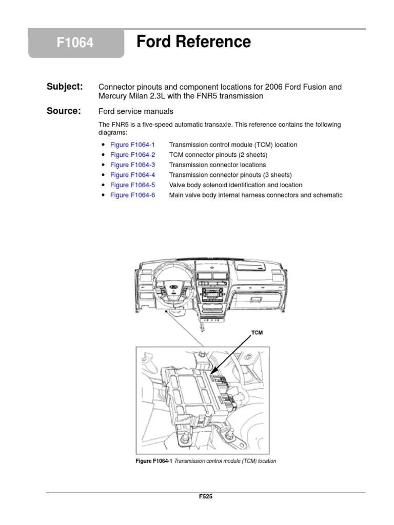 medium resolution of fnr5 diagram sensor transmission mechanics electrical connector ford transmission diagram automatic transmission 4f27e