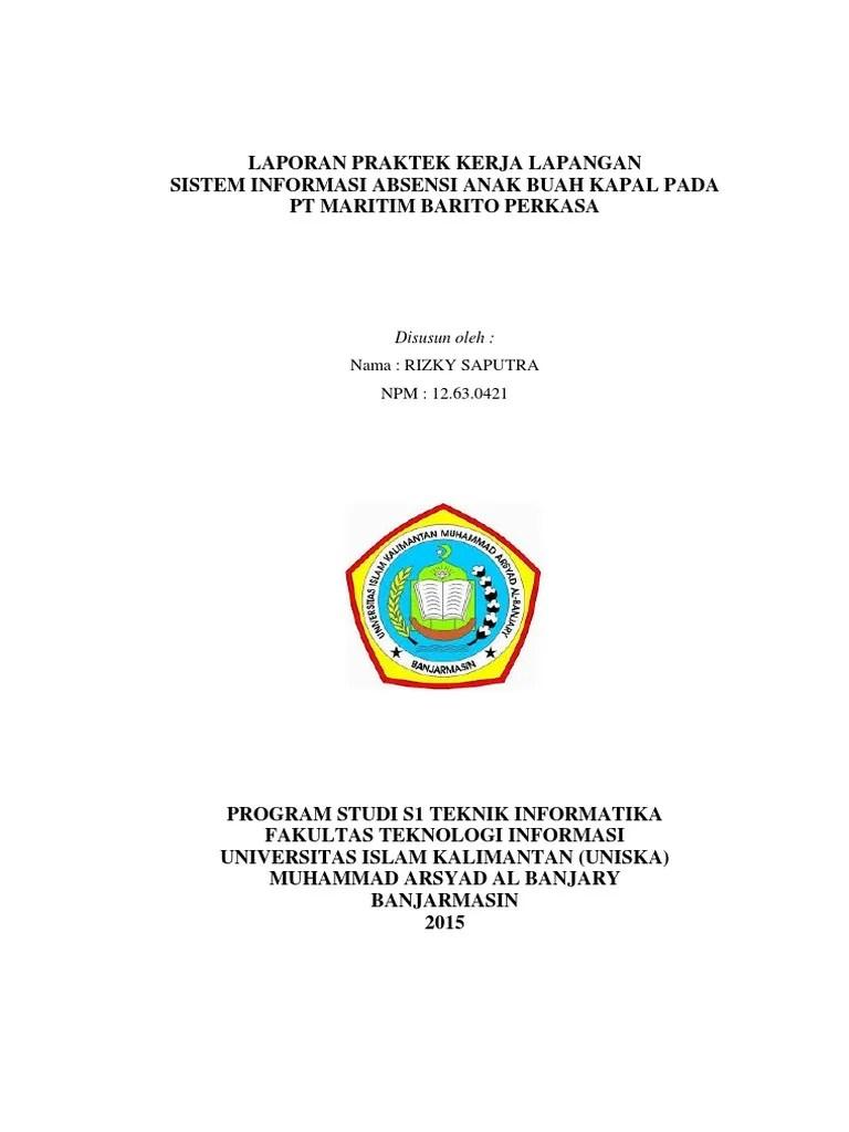 Contoh Ppt Laporan Pkl Mahasiswa Teknik Sipil Seputar Laporan Cute766