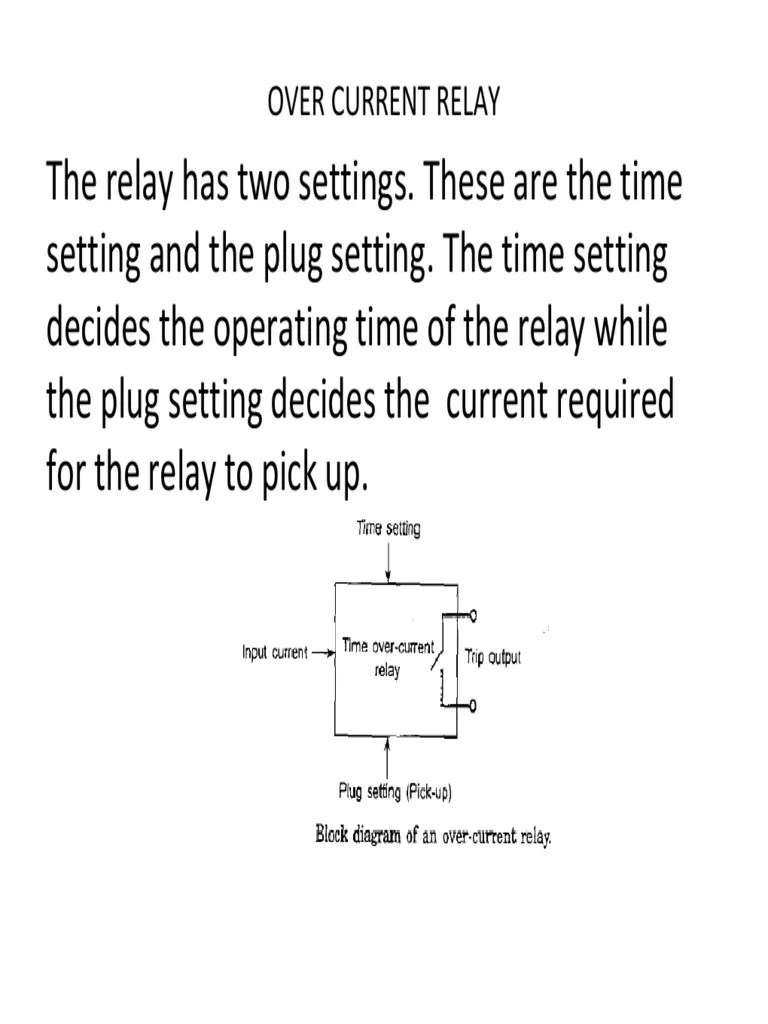 hight resolution of current relay diagram