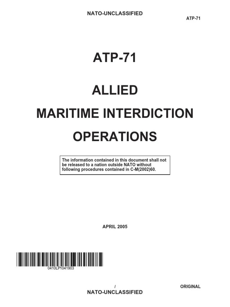 Cbp Marine Interdiction Agent Cover Letter Atp 71 Very High Frequency Electronic Warfare