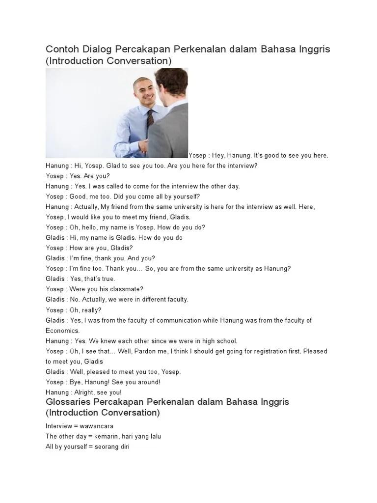 Contoh Dialog Introducing Others - download.atirta13.com