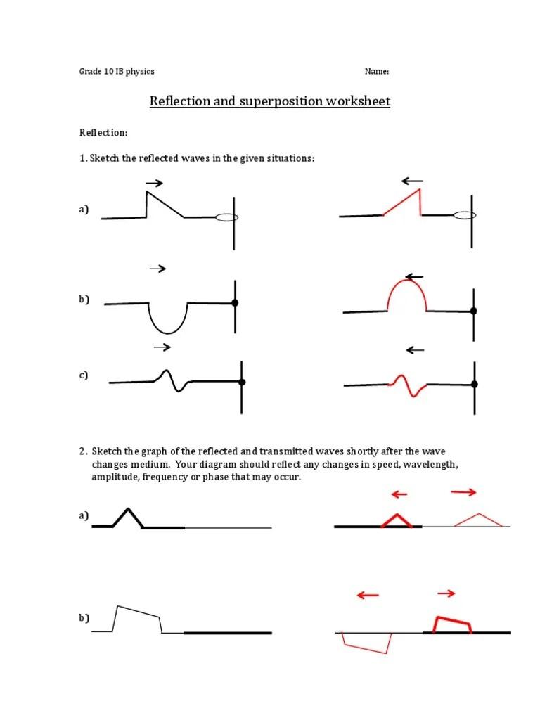 hight resolution of physics ib 10 waves worksheet answerkey   Waves   Physical Phenomena