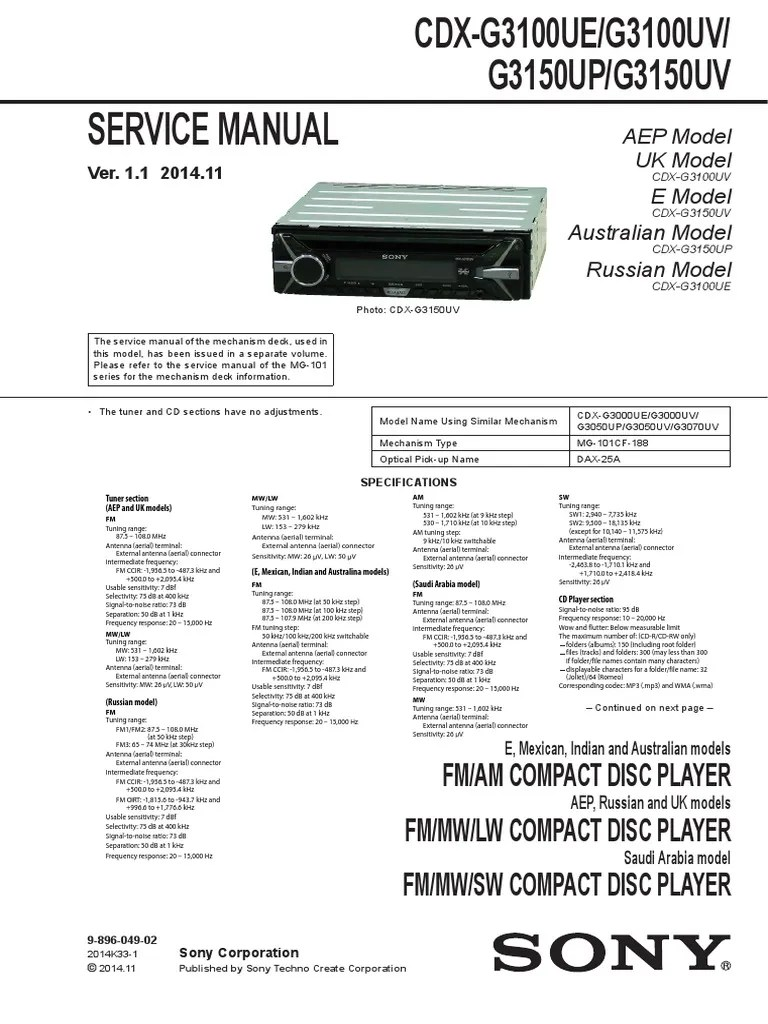 sony cdx c410 wiring diagram wiring diagrams one sony cdx gt200 manual sony cdx c410 wiring diagram [ 768 x 1024 Pixel ]
