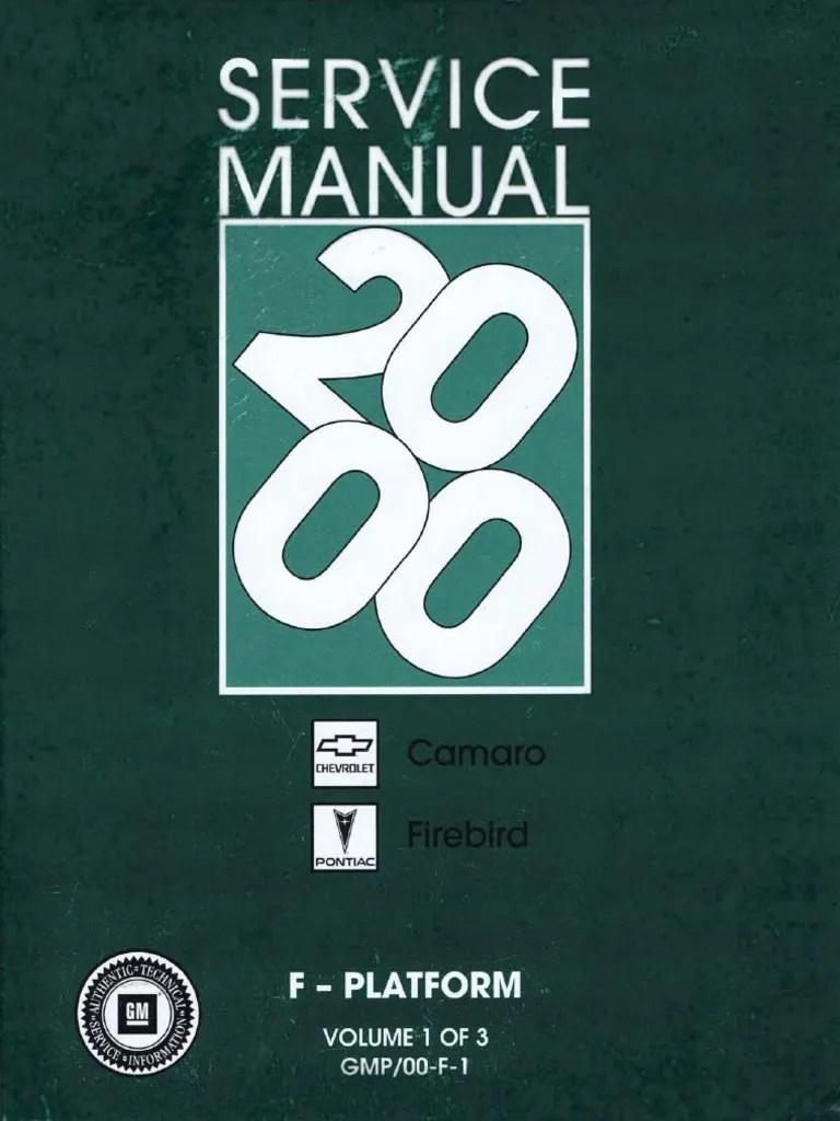 2000 chevrolet camaro pontiac firebird service manual volume 1 electrostatic discharge electrical connector [ 768 x 1024 Pixel ]