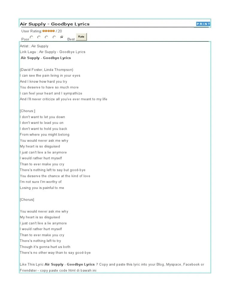 Lirik Lagu There You Ll Be : lirik, there, Lirik, Supply, Music