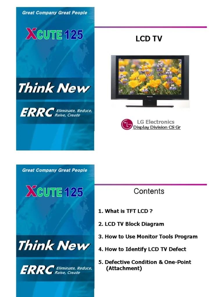 medium resolution of lg 2006 lcd tv training manual liquid crystal display fluorescent lamp