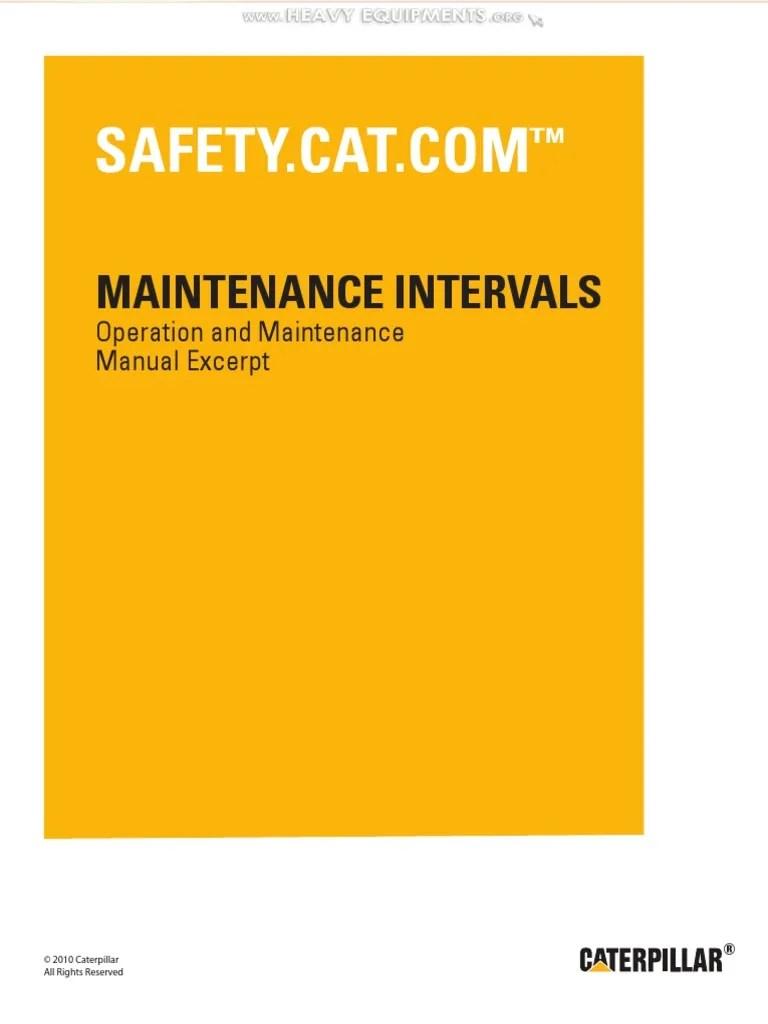 manual maintenance interval cat 416d 420d 42d 428d 430d 432d 442d backhoe loaders transmission mechanics elevator [ 768 x 1024 Pixel ]