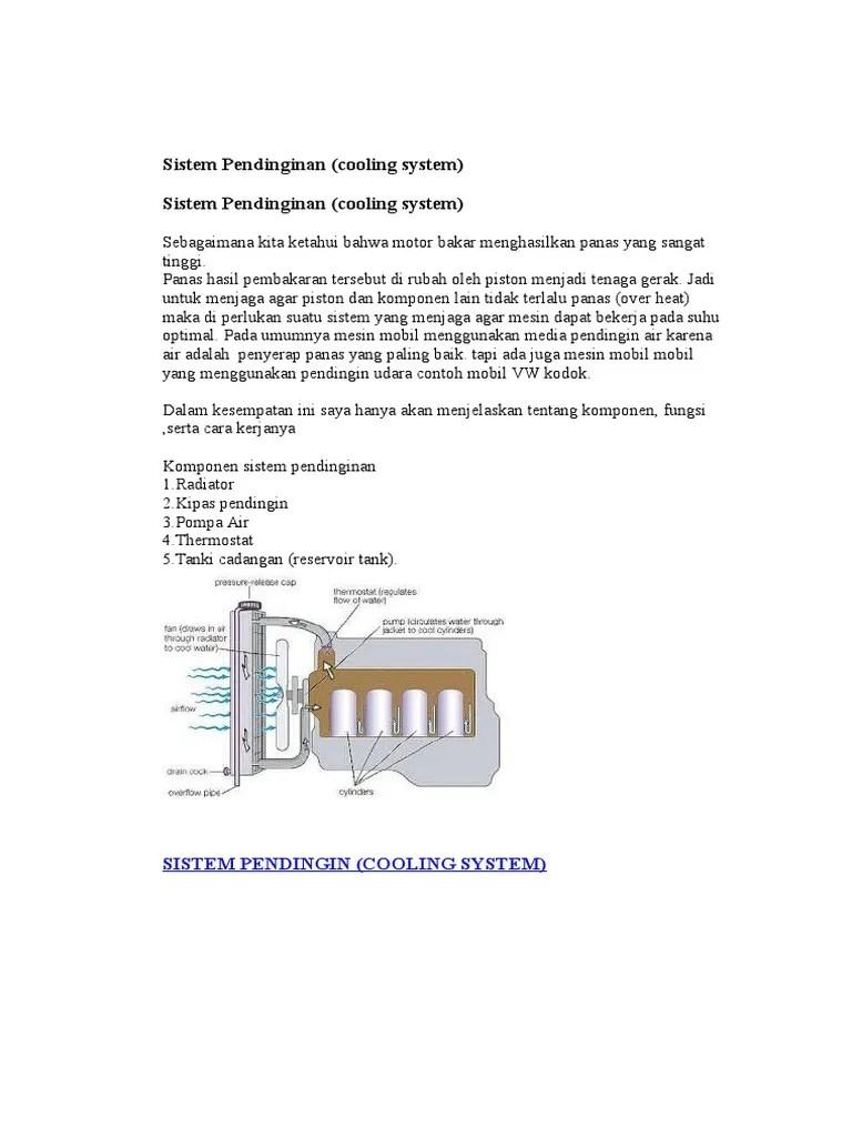 Fungsi Sistem Pendingin : fungsi, sistem, pendingin, Sistem, Pendinginan