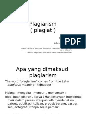 Apa Yang Dimaksud Horizontal : dimaksud, horizontal, Plagiarism, Kuliah, Citation