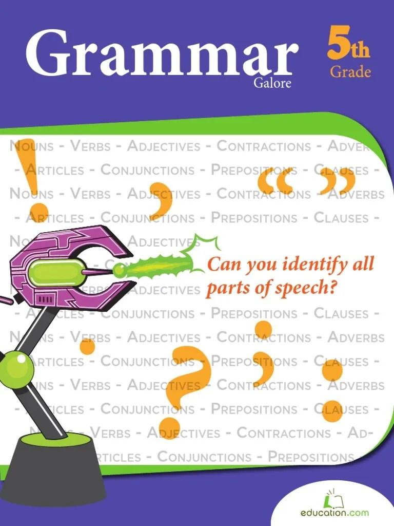 small resolution of Grammar Galore 5th Grade   Comma   Clause