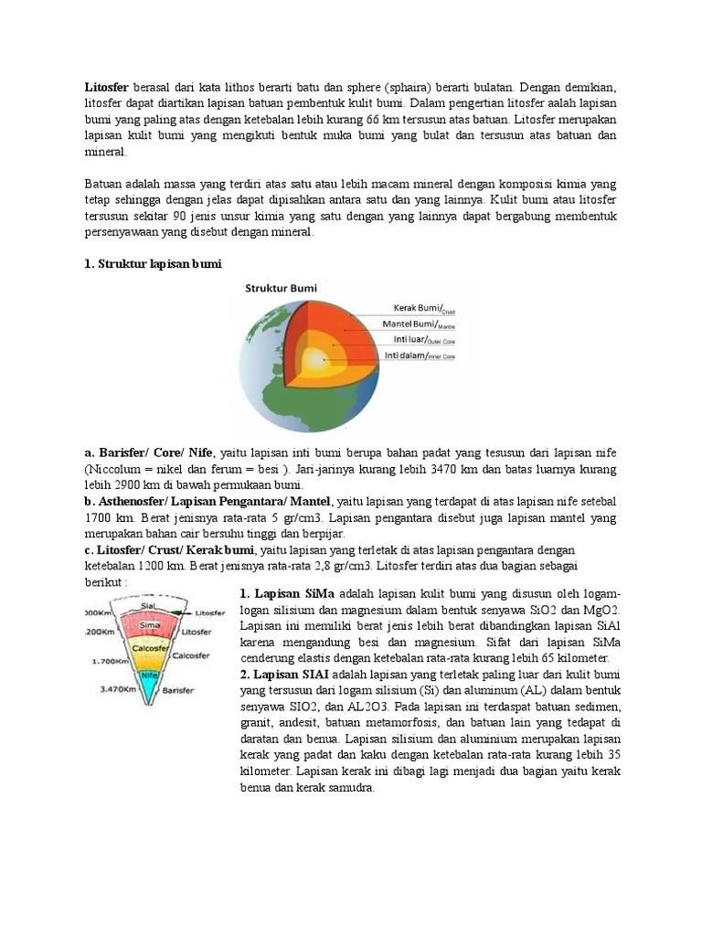 Lapisan Bumi Paling Dalam : lapisan, paling, dalam, Lapisan