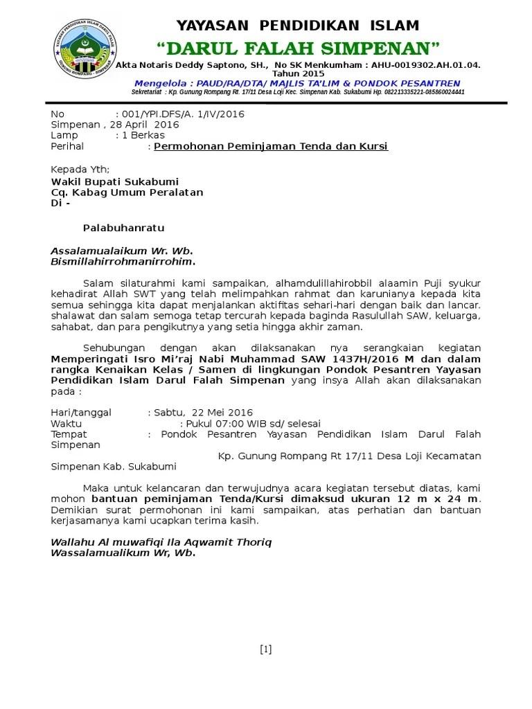 Contoh Kop Surat Yayasan : contoh, surat, yayasan, Contoh, Surat, Dokter, Cute766