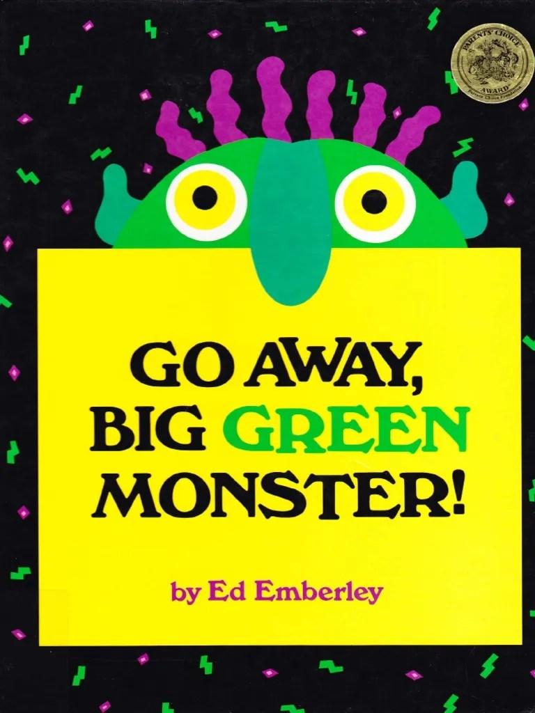 Go Away Big Green Monster Pdf : green, monster, Green, Monster