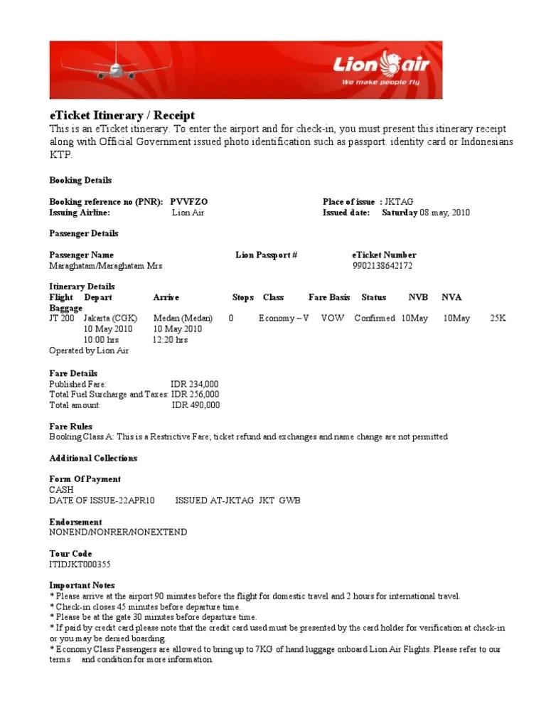 Cek Kode Booking Lion : booking, Booking, Number