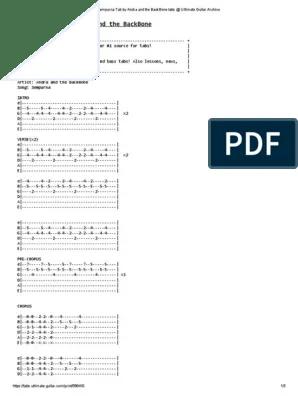 Andra And The Backbone Sempurna Chord : andra, backbone, sempurna, chord, Sempurna, Andra, BackBone, Ultimate, Guitar, Archive, Guitars, Songs