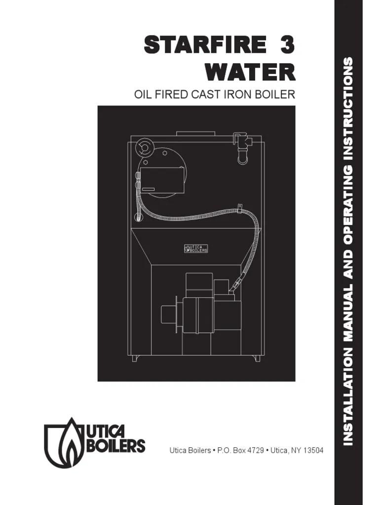 medium resolution of utica starfire 3 oil fired cast iron boiler chimney boiler wiring diagram