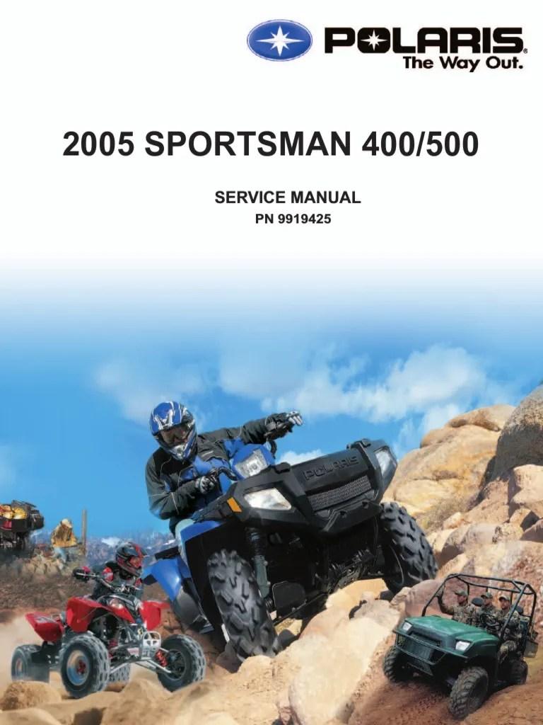2007 Polaris Sportsman 500 X2 Wiring Diagram Further 2005 Polaris