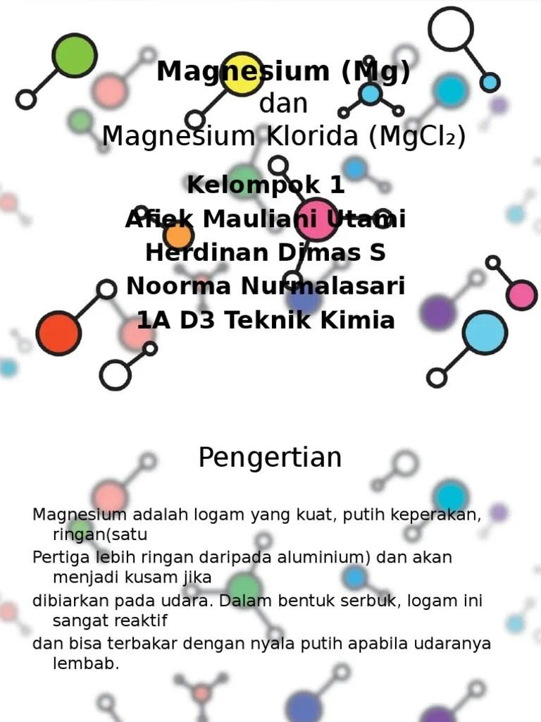 Nama Senyawa Mgcl2 : senyawa, mgcl2, Mgcl2, Kelompok