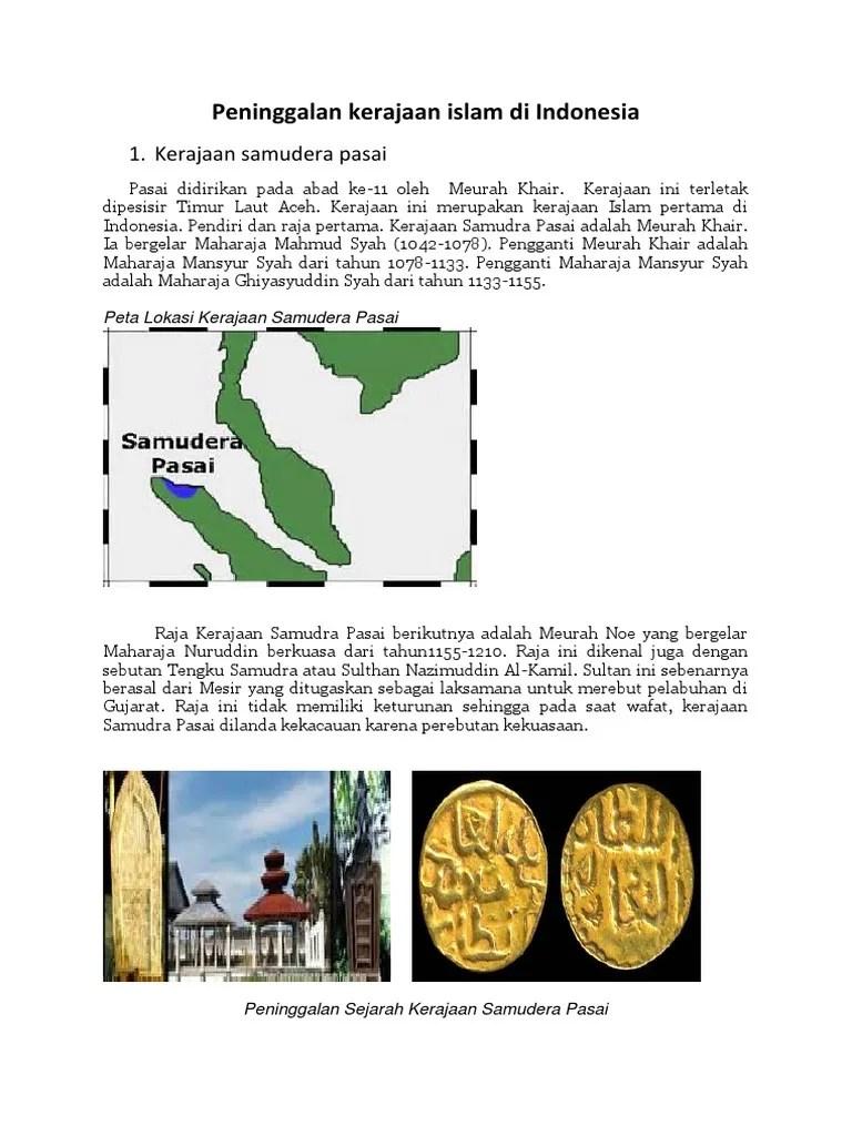 Sejarah Peninggalan Kerajaan Islam Di Indonesia : sejarah, peninggalan, kerajaan, islam, indonesia, Peninggalan, Kerajaan, Islam, Indonesia.pdf