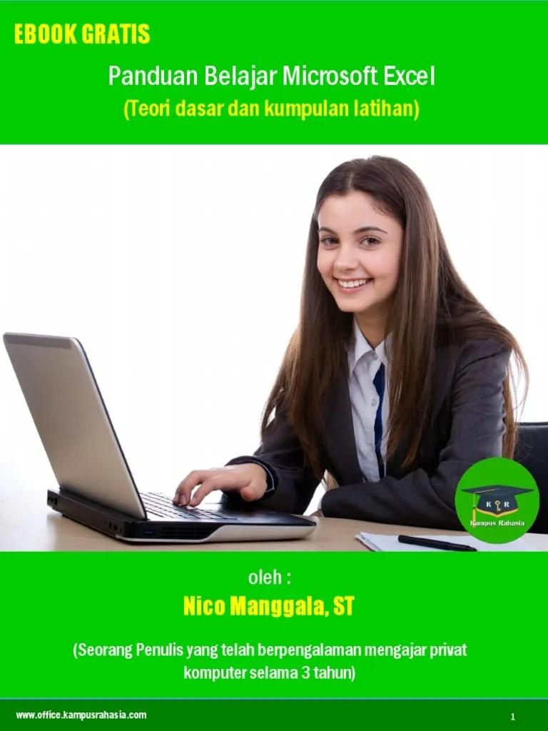 Belajar Excel Pdf : belajar, excel, Ebook, Tutorial, Belajar, Microsoft, Excel.pdf