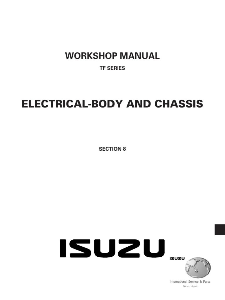 hight resolution of isuzu d max workshop manual pdf