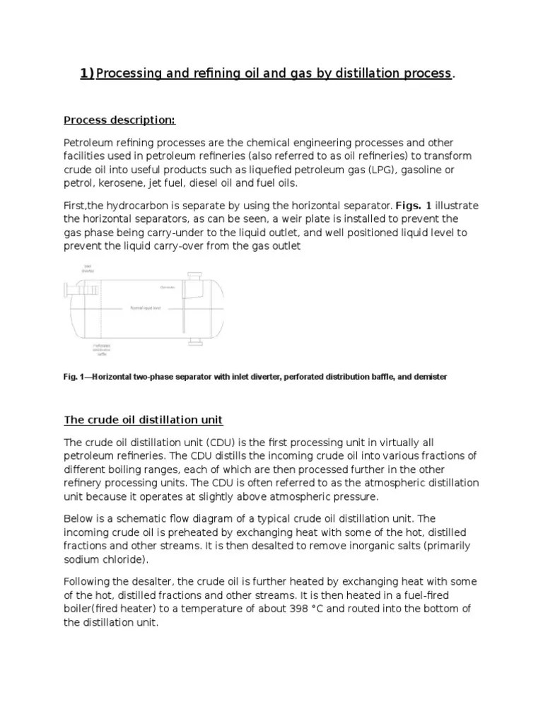 proces flow diagram crude distillation unit [ 768 x 1024 Pixel ]