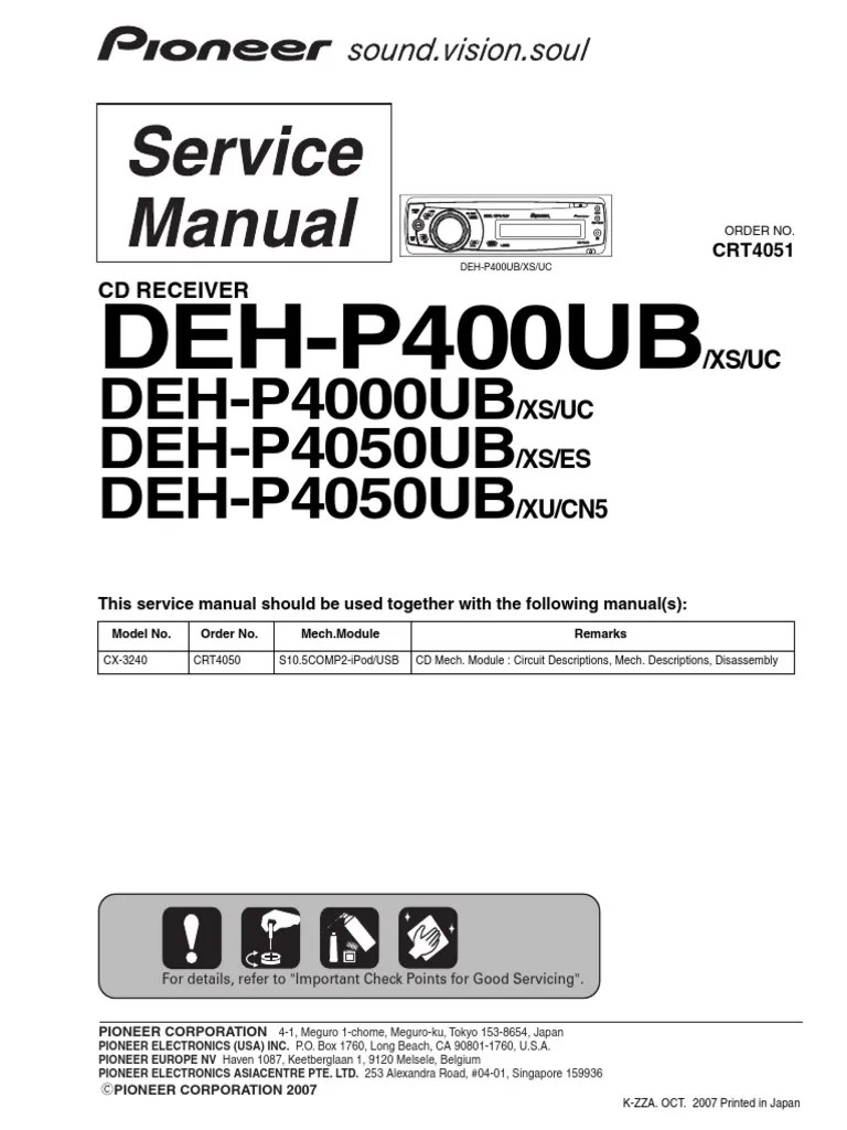 hight resolution of  wiring diagram pioneer deh p4000ub uc xs wiring diagram repair on pioneer deh