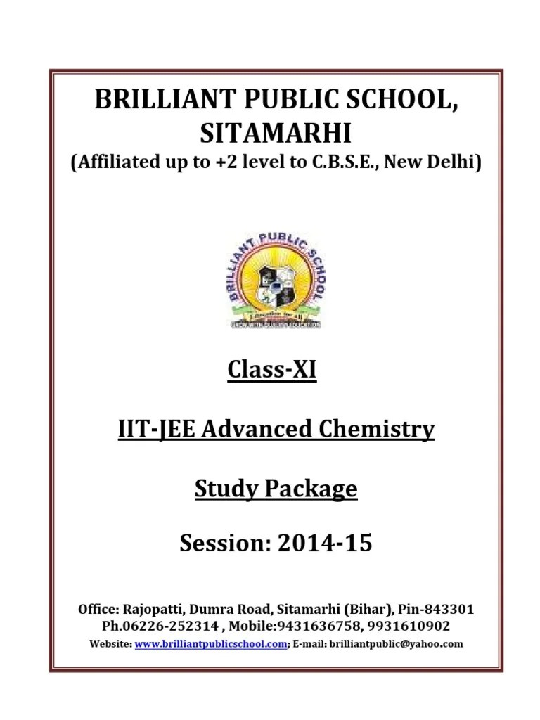 doc 117 b p s xi chemistry iit jee advanced study package 2014 15 pdf solution stoichiometry [ 768 x 1024 Pixel ]