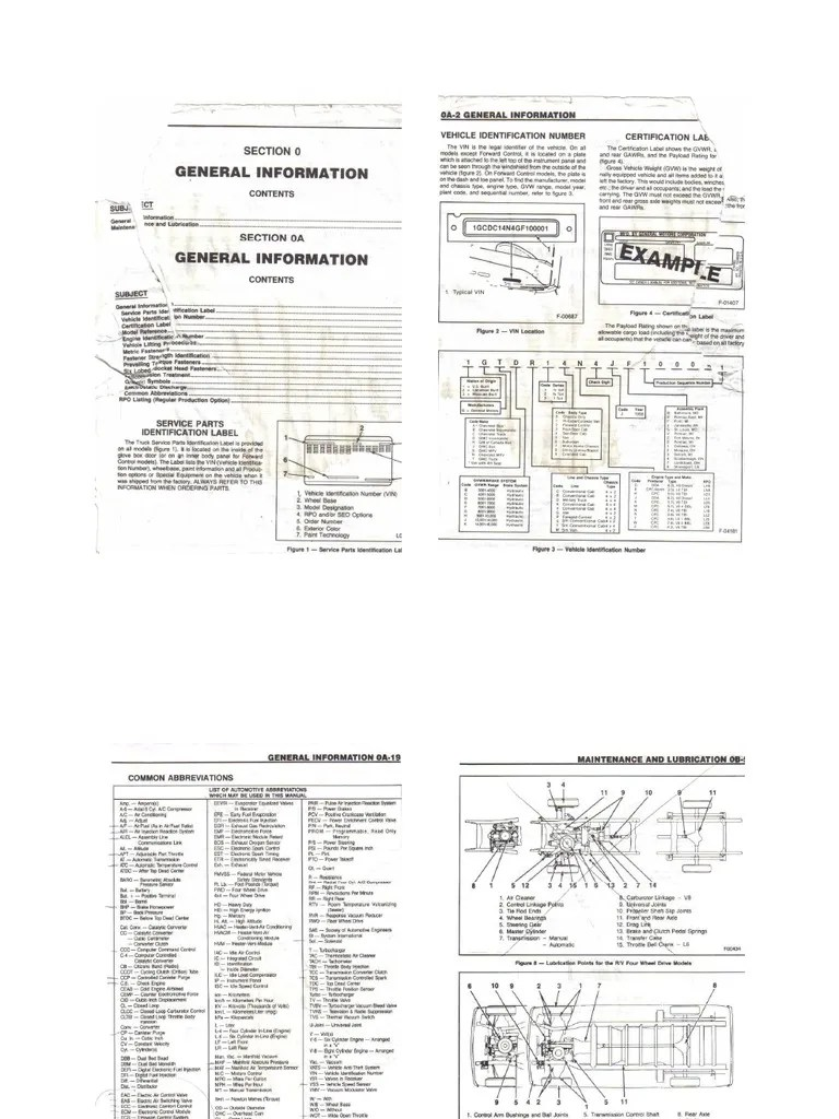 1988 g30 Chevy Van Repair Manual