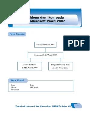 Kumpulan Ikon-ikon Untuk Membuat Surat Terdapat Di Menu : kumpulan, ikon-ikon, untuk, membuat, surat, terdapat, Kelas, Microsoft, 2007.pdf