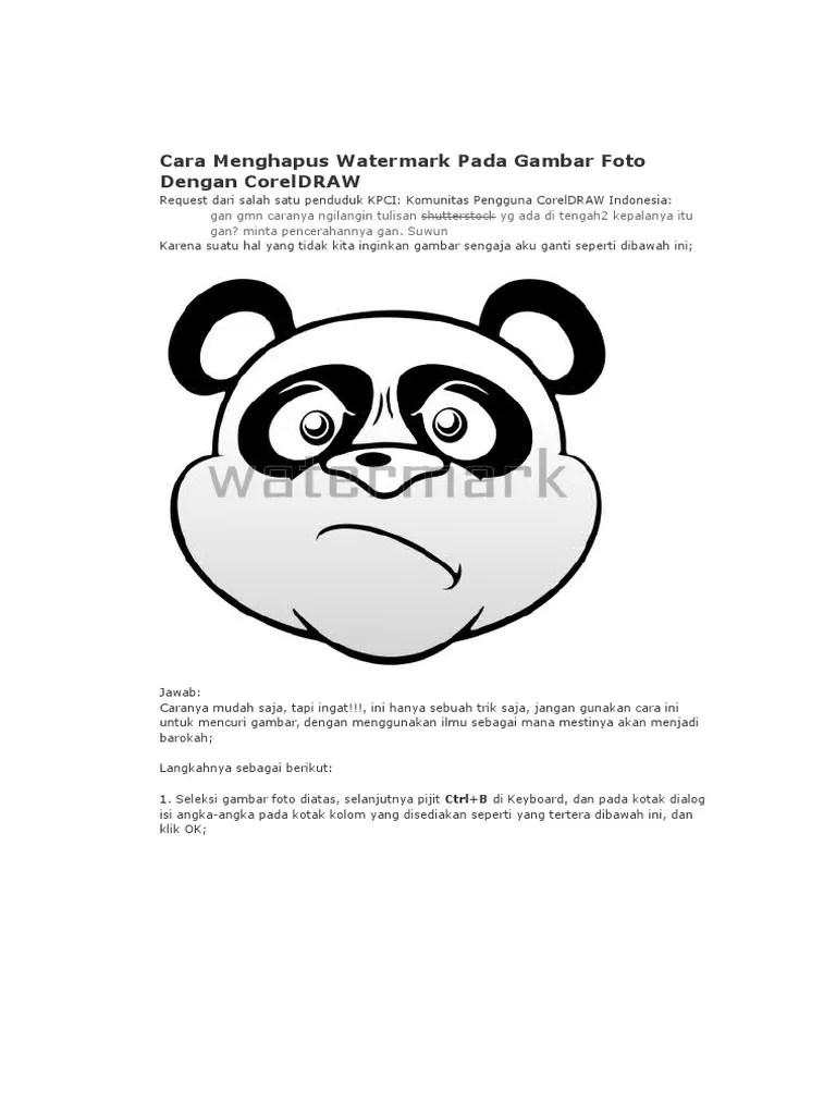 Cara Menghapus Watermark Di Pdf : menghapus, watermark, Menghilangkan, Watermark, Online, Masalah