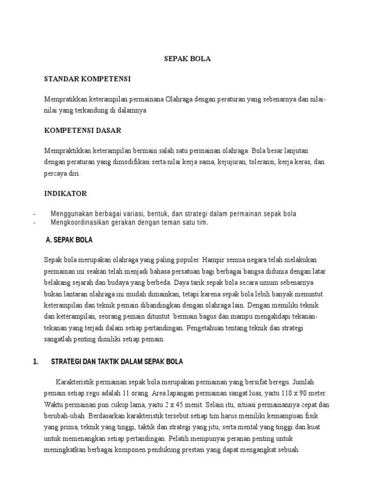 Pengertian Strategi Dalam Sepak Bola : pengertian, strategi, dalam, sepak, PANDUAN, SEPAK