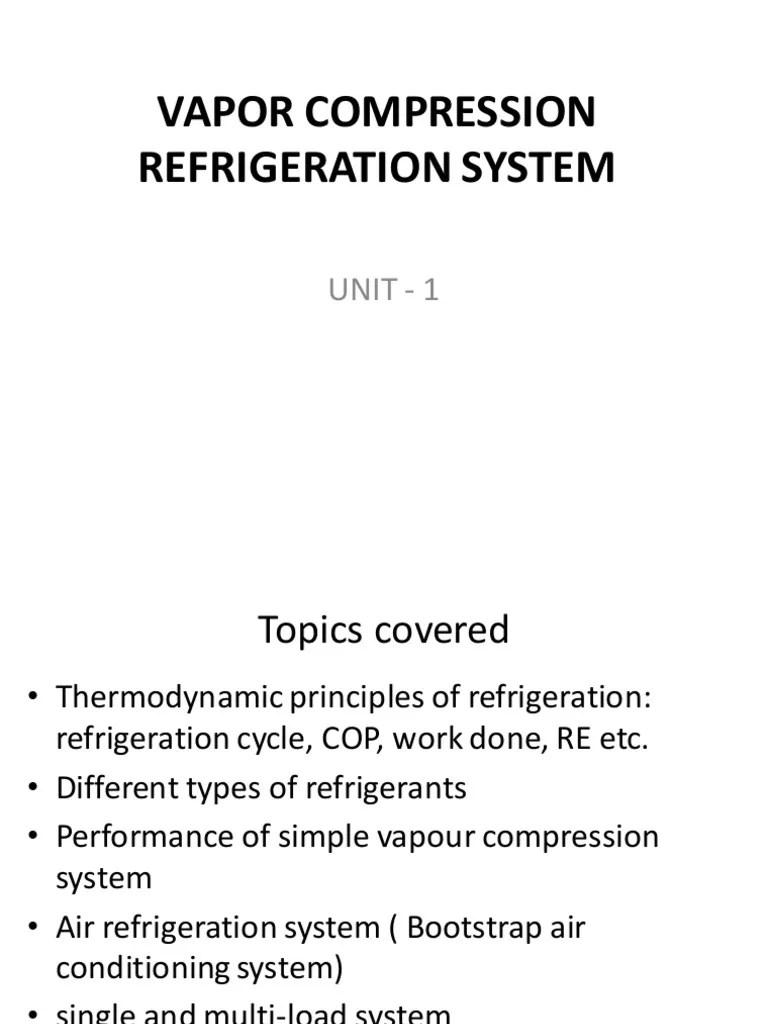 vapour compression refrigeration cycle t  diagram [ 768 x 1024 Pixel ]