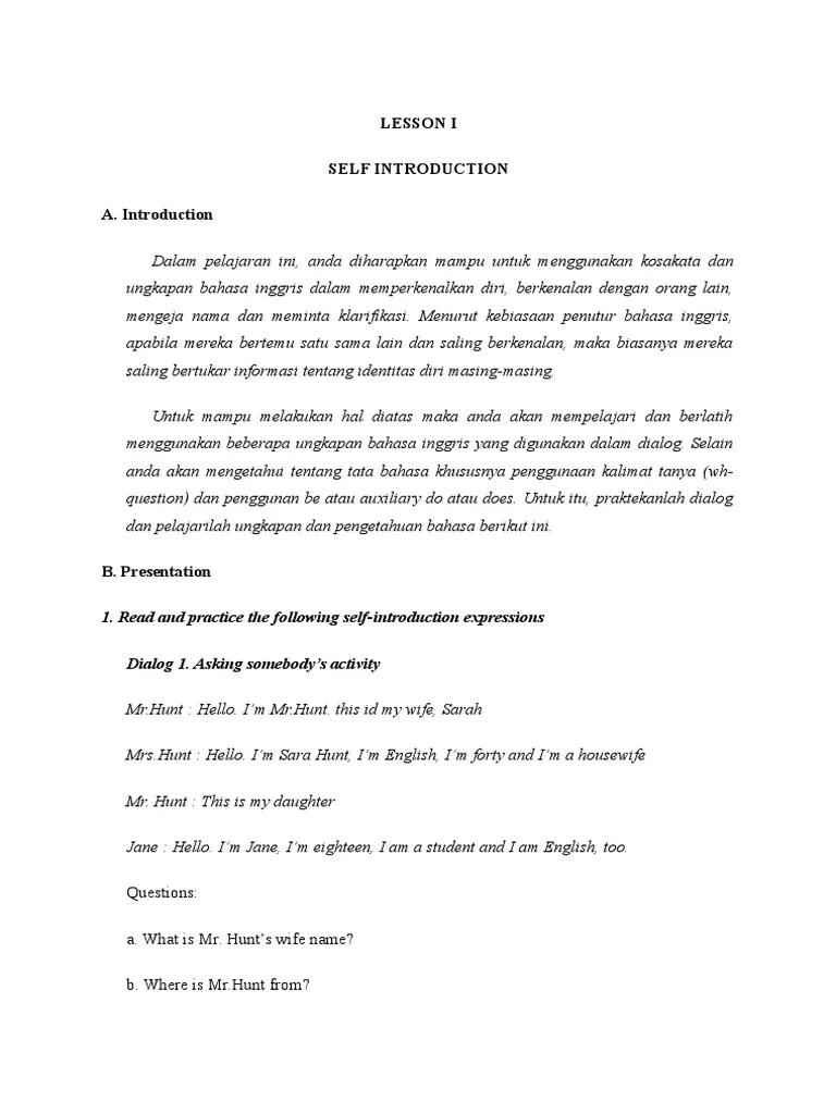 Dialog Memperkenalkan Diri Dalam Bahasa Inggris : dialog, memperkenalkan, dalam, bahasa, inggris, LESSON, Introduction, Semiotics