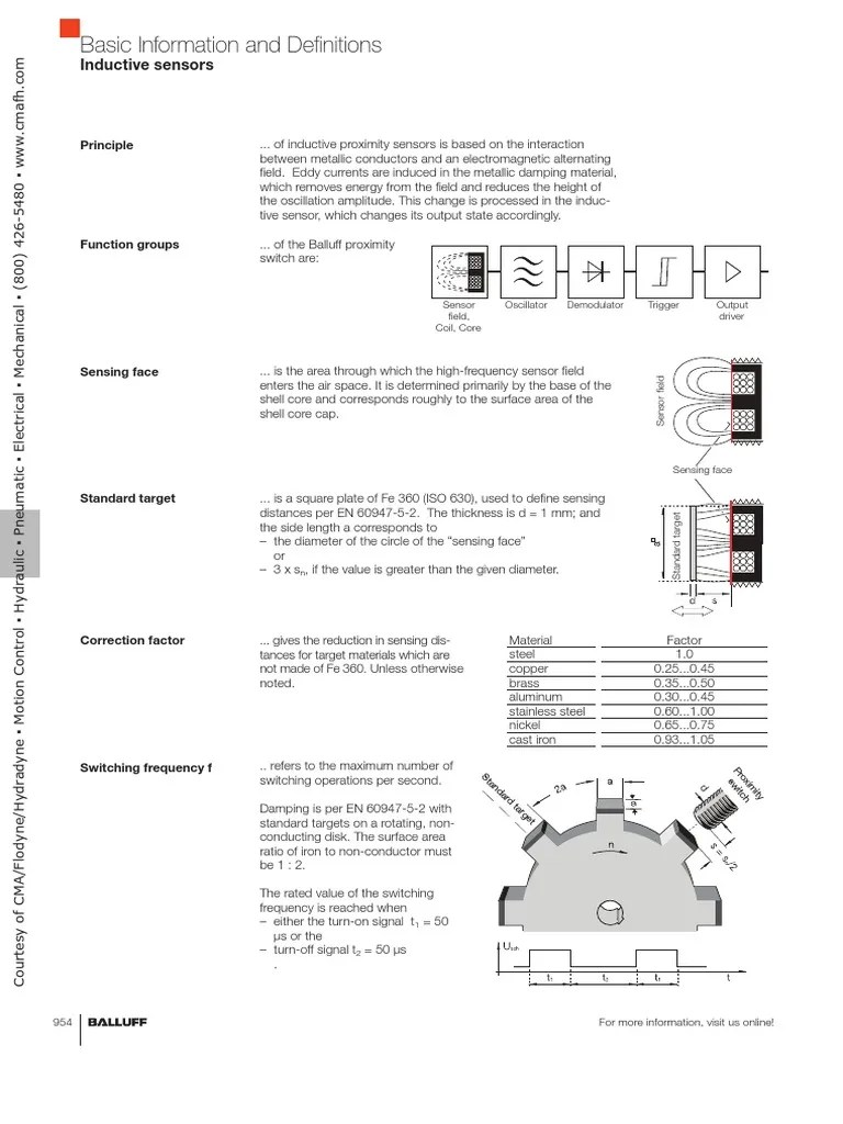 medium resolution of balluff inductive prox basic info wiring diagrams relay switch