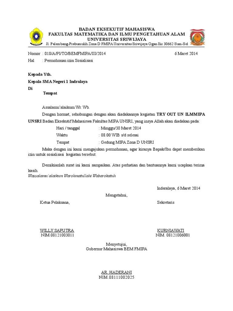 35+ Contoh Surat Permohonan Rekomendasi Terlengkap - Contoh...