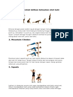 Contoh Latihan Kekuatan Otot Lengan : contoh, latihan, kekuatan, lengan, Bentuk, Latihan, Untuk, Kekuatan, Tahan, Adalah