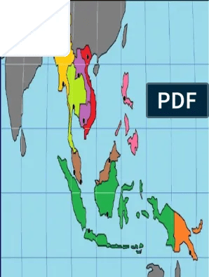 Peta Buta Asia Tenggara : tenggara, Benua, Gambar