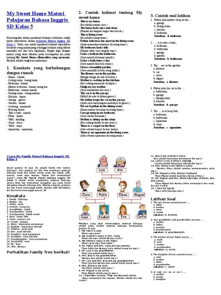 Bahasa Inggris Keponakan Perempuan : bahasa, inggris, keponakan, perempuan, Sweet, Materi, Pelajaran, Bahasa, Inggris, Kelas