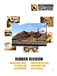 Conveyor Belt, Belting and Rubber Hose and Fittings Catalog